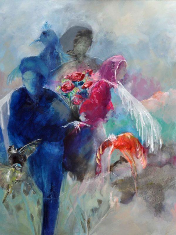 Le-bouquet-espoir---Lasserre---100-100---Huile-sur-medium---2019---web