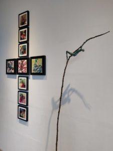 Galerie In Situ - Label Friche - Lasserre Jouan Les envolées - Janvier 2020